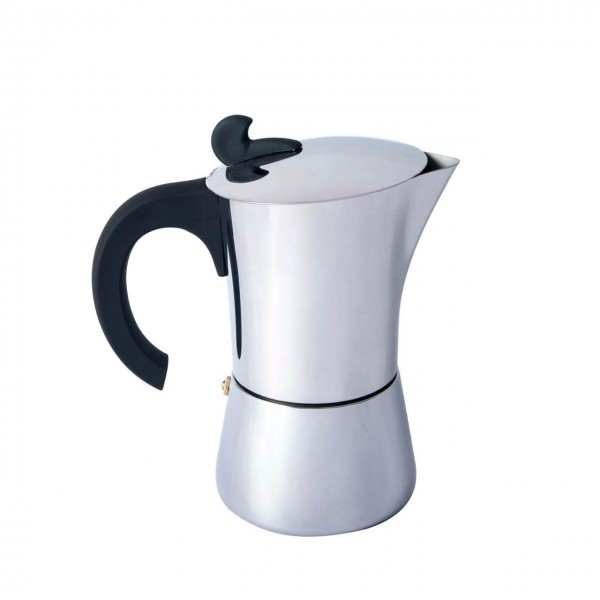 Basic Nature Edelstahl Espressokocher