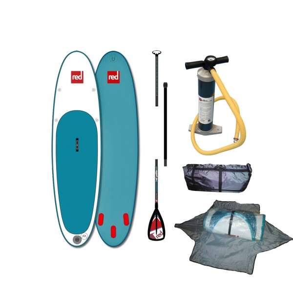 "Red Paddle iSUP 10'6"" - Board + Pumpe + Paddel"