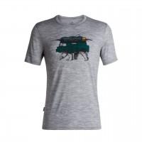 Icebreaker Tech Lite T-Shirt mit Print