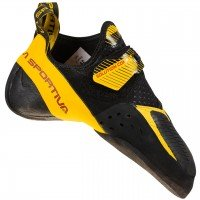 La Sportiva Solution Comp  - Black/Yellow, 42