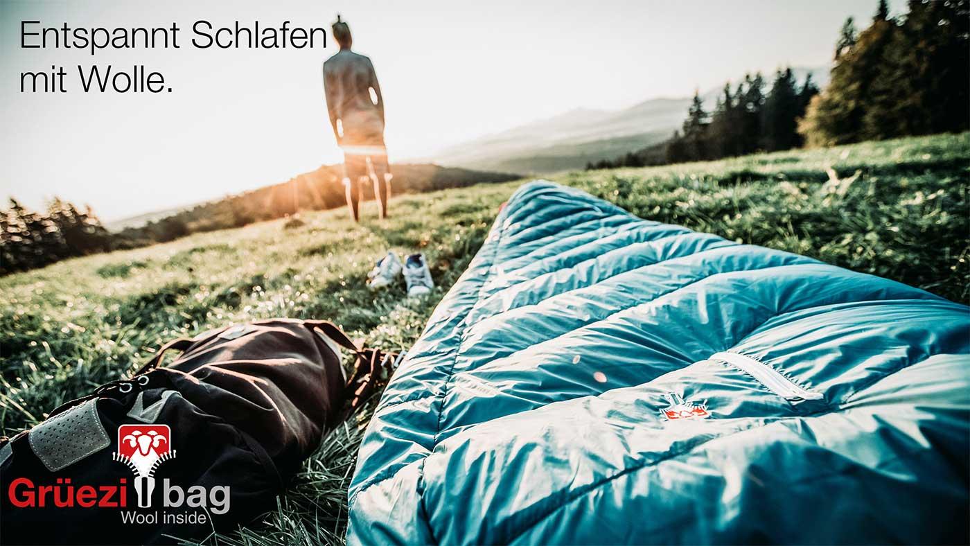 Entspannt Schlafen dem mit Wollschlafsack Biopod