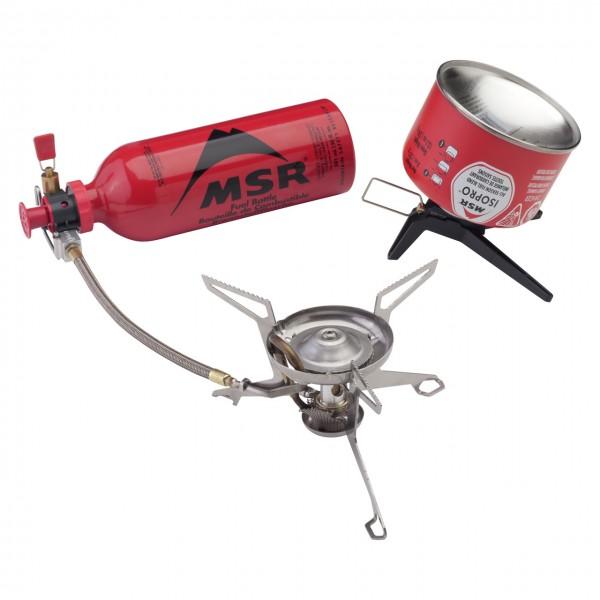 MSR WhisperLite Universal Combo Multifuel Kocher
