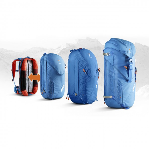 ABS P.RIDE 18 Liter Zip-on - Ocean Blue