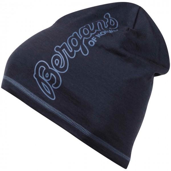 Bergans Beanie Bloom Wool - Navy