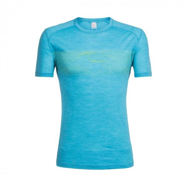 Icebreaker Sphere T-Shirt Linescape Island