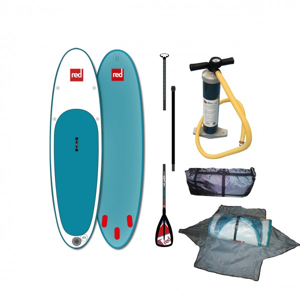 "Red Paddle iSUP 10'8"" Set - Board + Pumpe + Paddel"