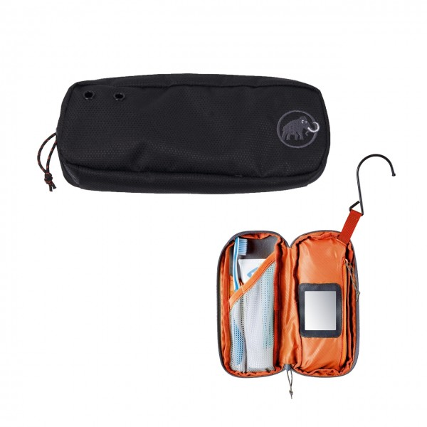 Mammut Washbag Travel klein - Black, S
