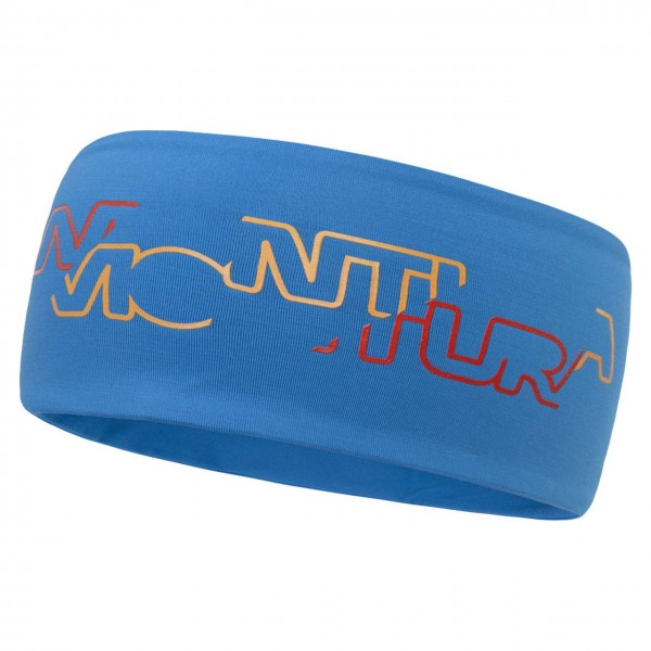 Montura Step Light Stirnband - Blau