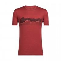 Icebreaker Tech Lite T-Shirt Print Haute Route
