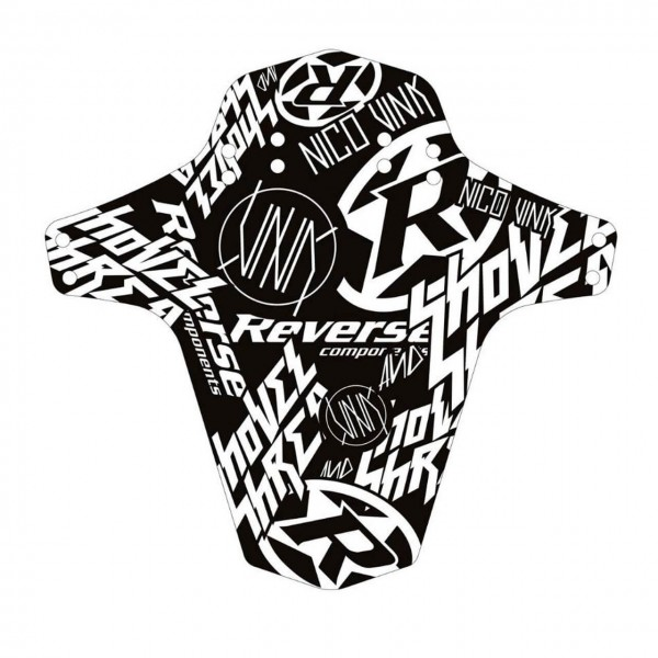 Reverse Mudguard Nico Vink-Stickerbomb