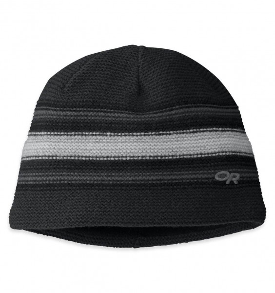 OR Spitsbergen Beanie - black/charcoal, Onesize