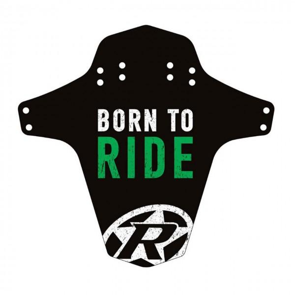 """Reverse Schutzblech """"Born to Ride"""""""