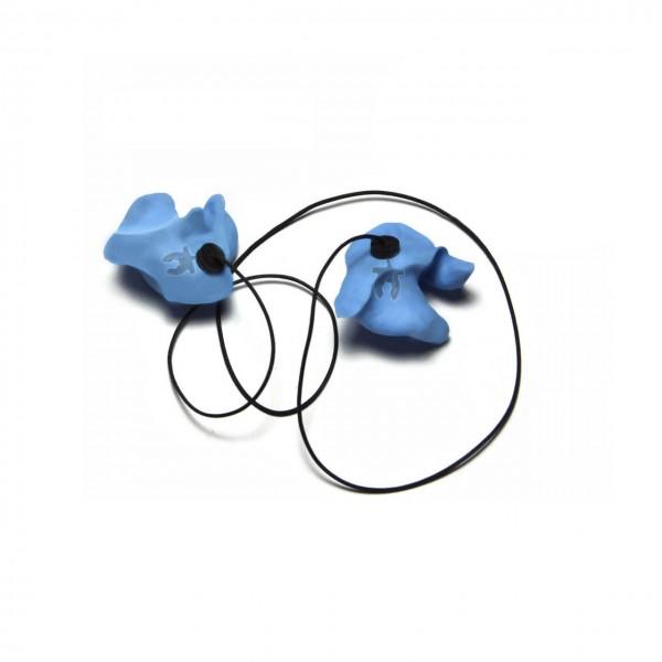 threeWaves Ear Plugs Set mit Verlustsicherung