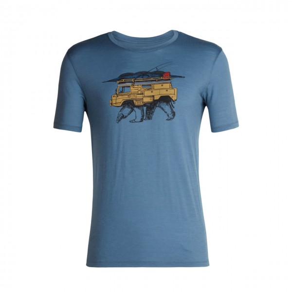 Icebreaker Merino T-Shirt Tech Lite mit Print