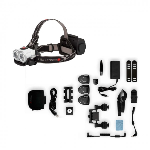 LED Lenser XEO 19R Softcase mit Zubehör