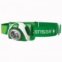 LED Lenser SEO3 Stirnlampe - Green