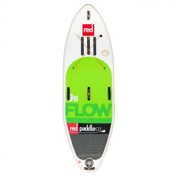 """Red Paddle Wildwasser SUP 9'6"""" Flow"""
