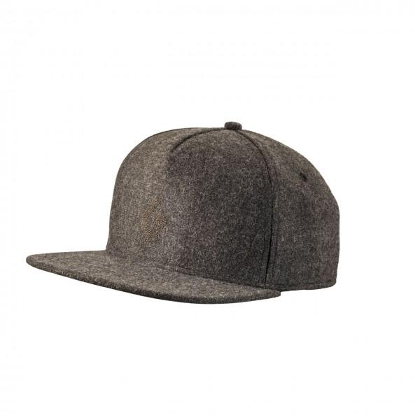 Black Diamond Wool Trucker Hat - Smoke, Onesize