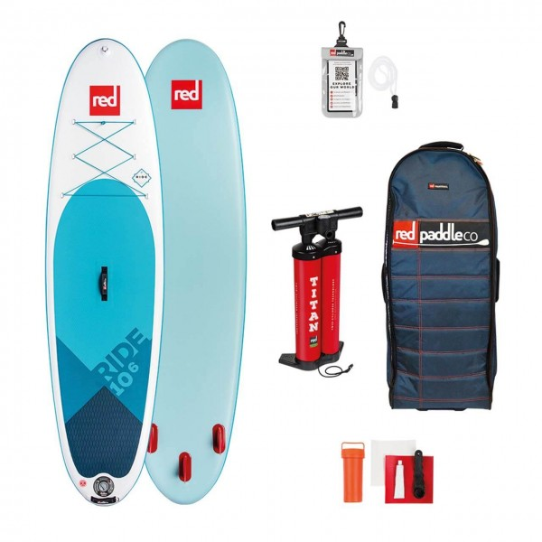"""Red Paddle Ride 10'6"""""""