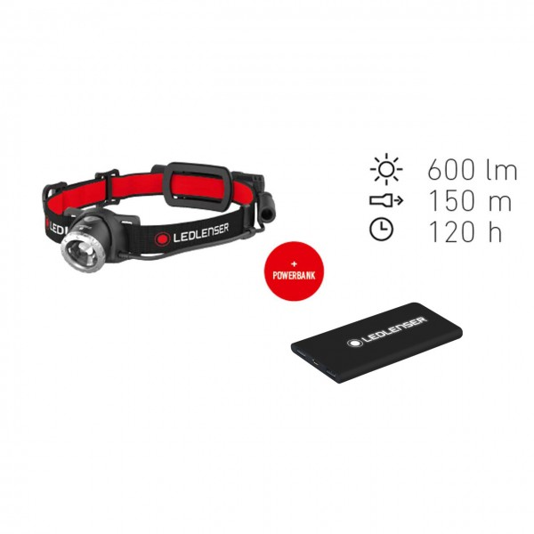 LED Lenser H8R Bundle