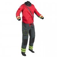 Palm Rescue Dry Suit  - Red/Jet Grey, L